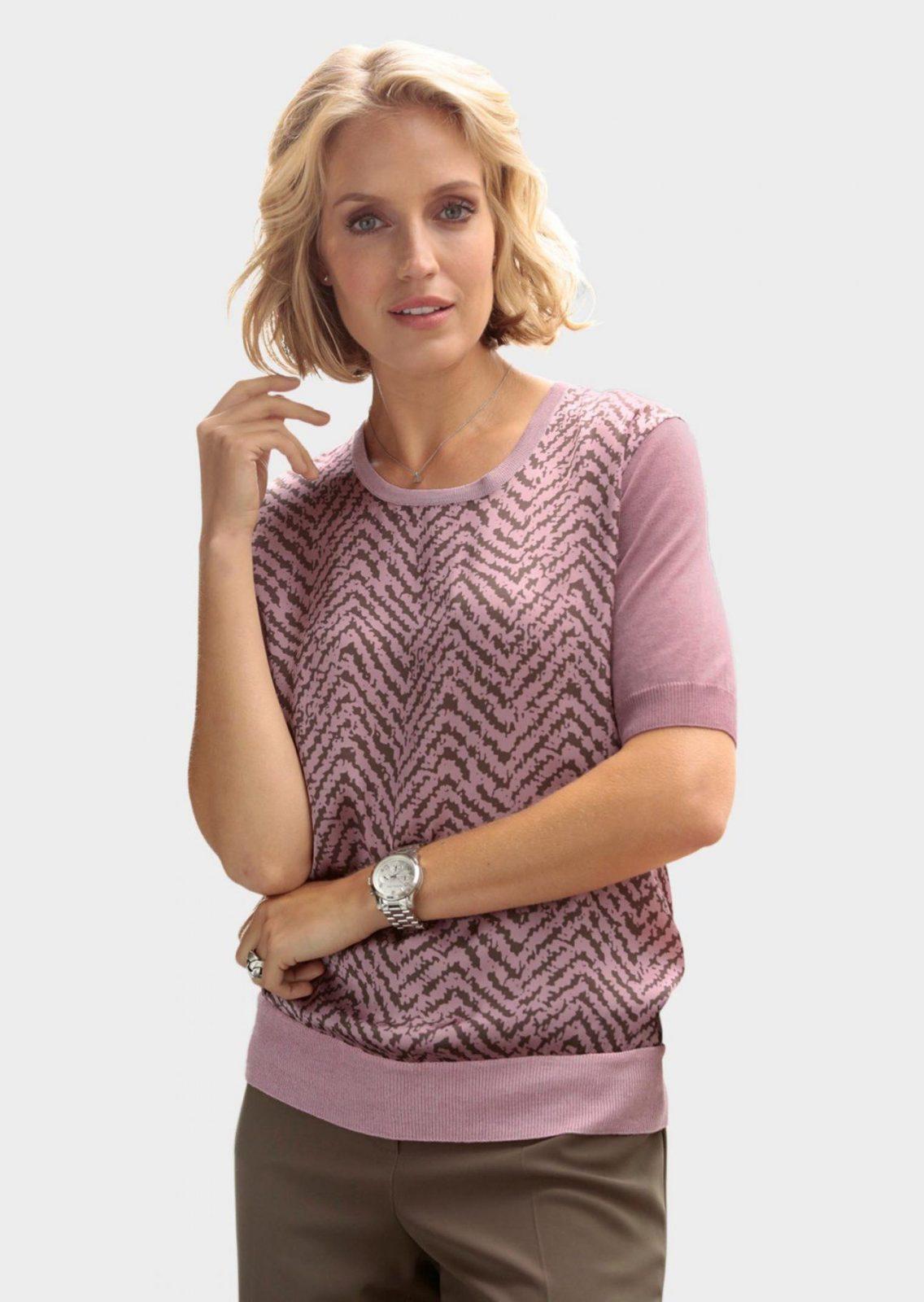 Pullover Mit Bluseneinsatz Online Kaufen  Atelier Goldner Schnitt von Atelier Goldner Schnitt Lagerverkauf Bild