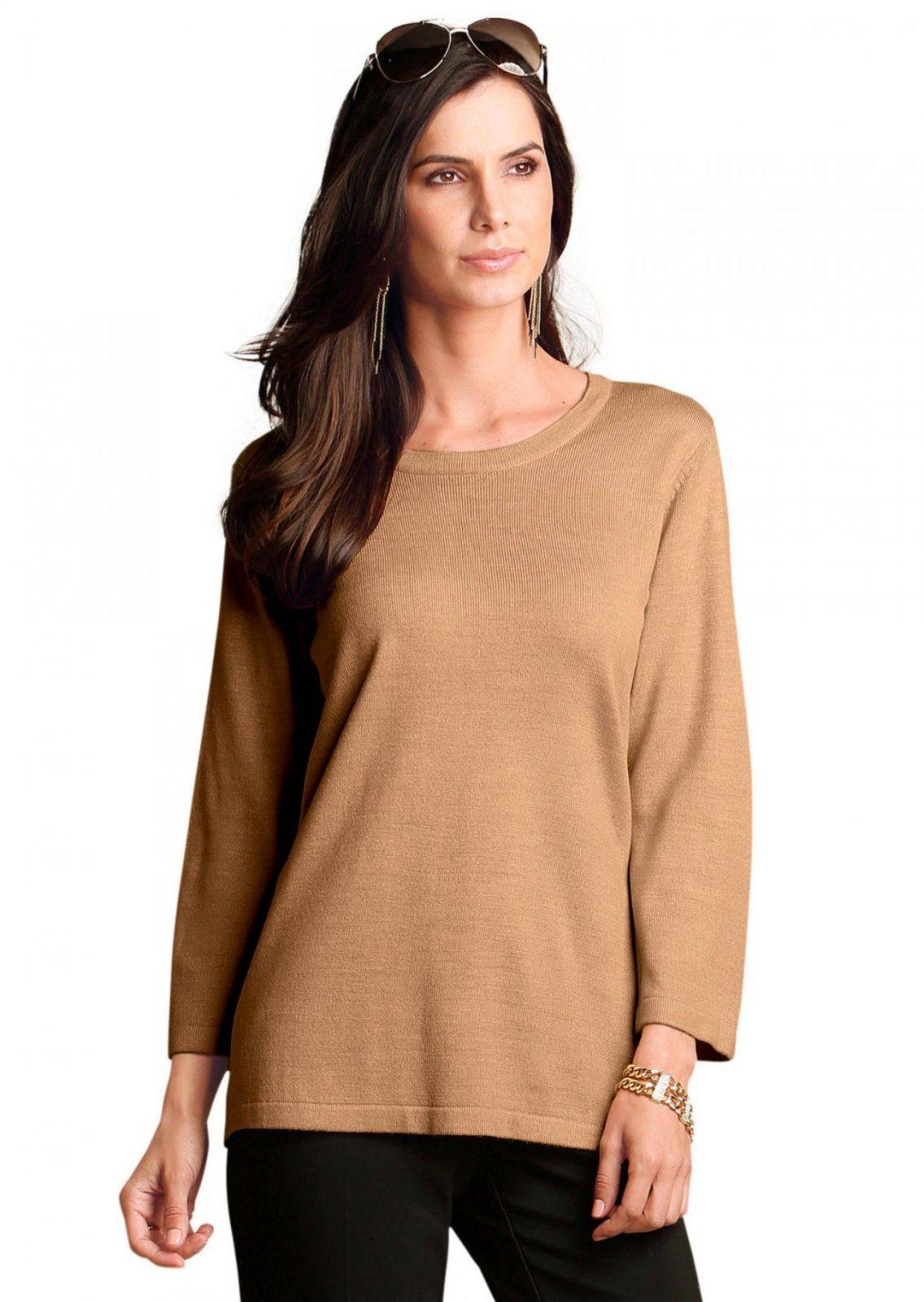 Pullover Mit Modischem Dreieckschal Online Kaufen  Atelier Goldner von Atelier Goldner Schnitt Lagerverkauf Photo