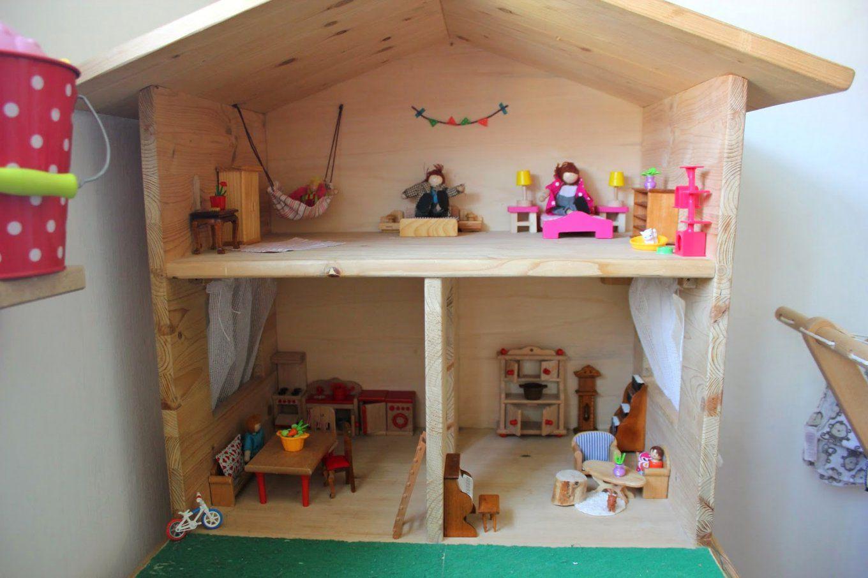 Puppenhaus Selber Bauen Puppenhaus Im Avec Barbie Haus Selbst Bauen