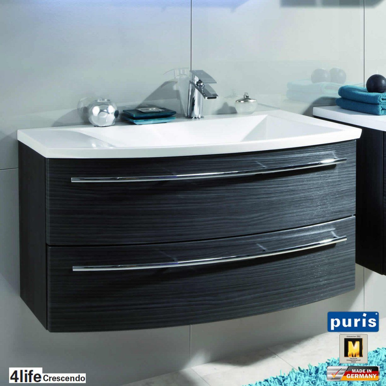 Puris Crescendo Badmöbel Als Waschtischset 90 Cm