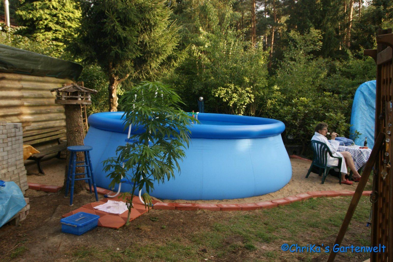 Quickpool Was Tun Damit Der Rasen Nicht Fault  Hausgarten von Pool Im Garten Aufstellen Photo