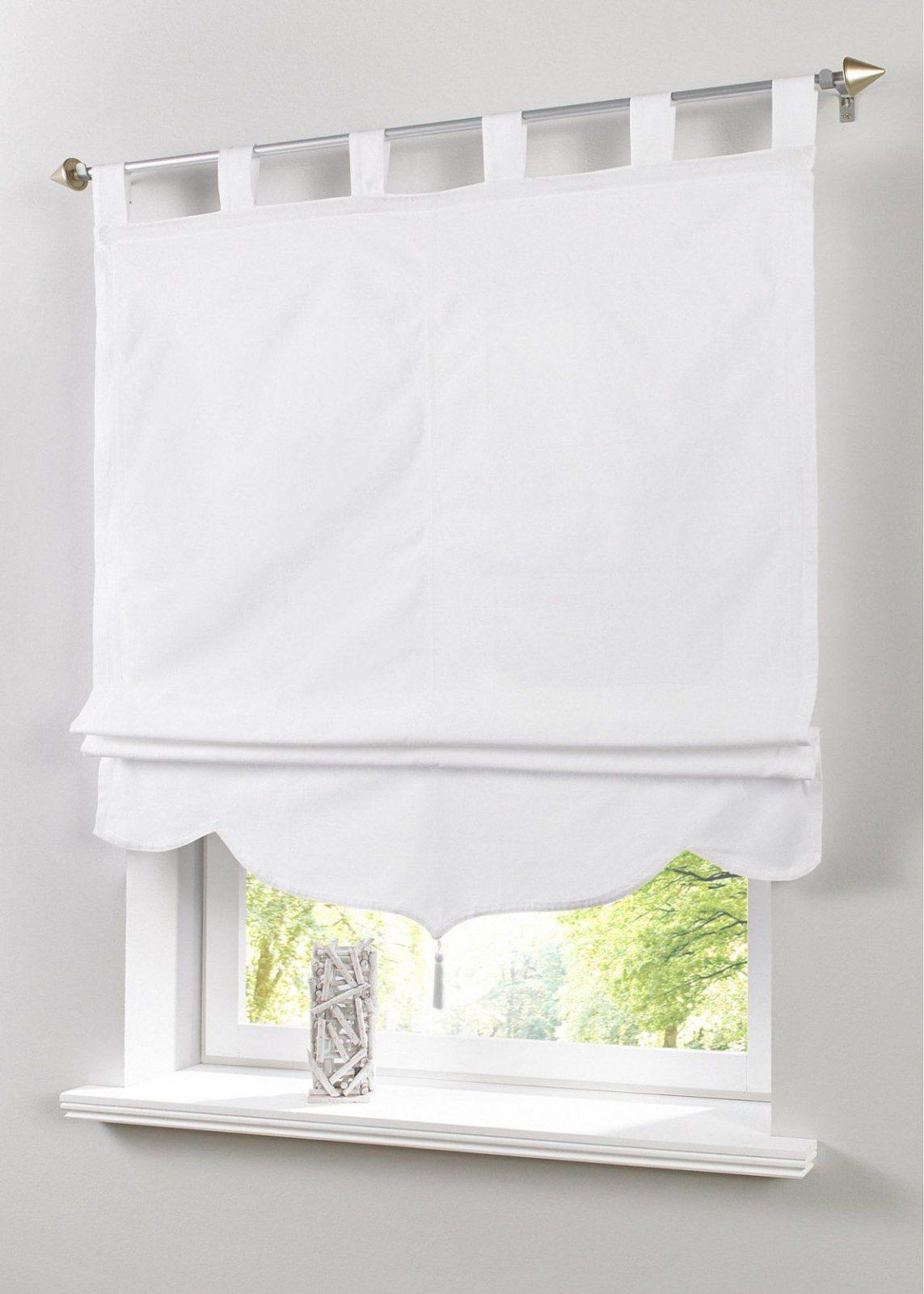 """Raffrollo """"jamal"""" Bpc Living Weiss …  Pinteres… von Raffrollo 150 Cm Breit Bild"""