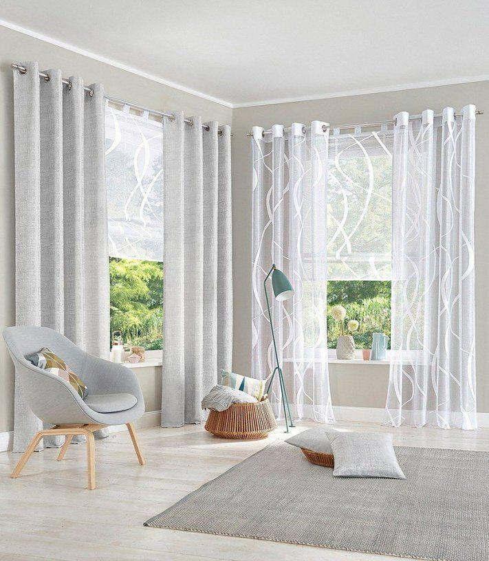 Raffrollo My Home Cellino Transparent  Raffrollos  Gardinen von Gardinen Wohnzimmer Ideen Vorhänge Bild