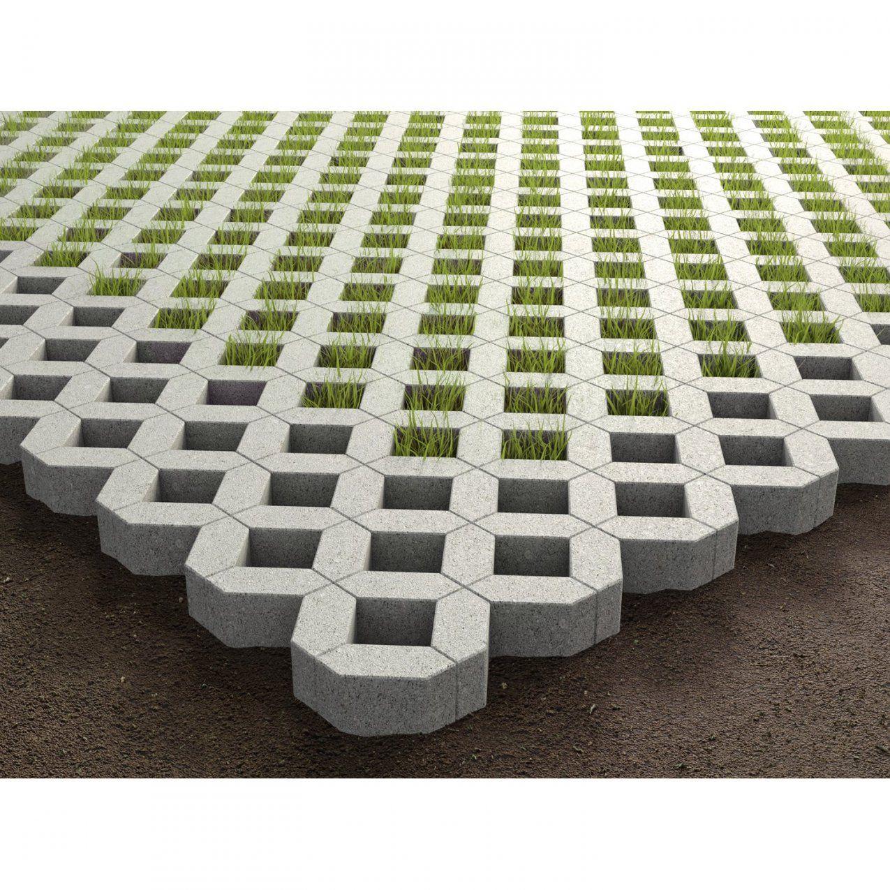 Rasengitterstein Beton Grau Ca 608 Cm X 408 Cm X 8 Cm Kaufen Bei Obi von Beton U Steine Obi Photo
