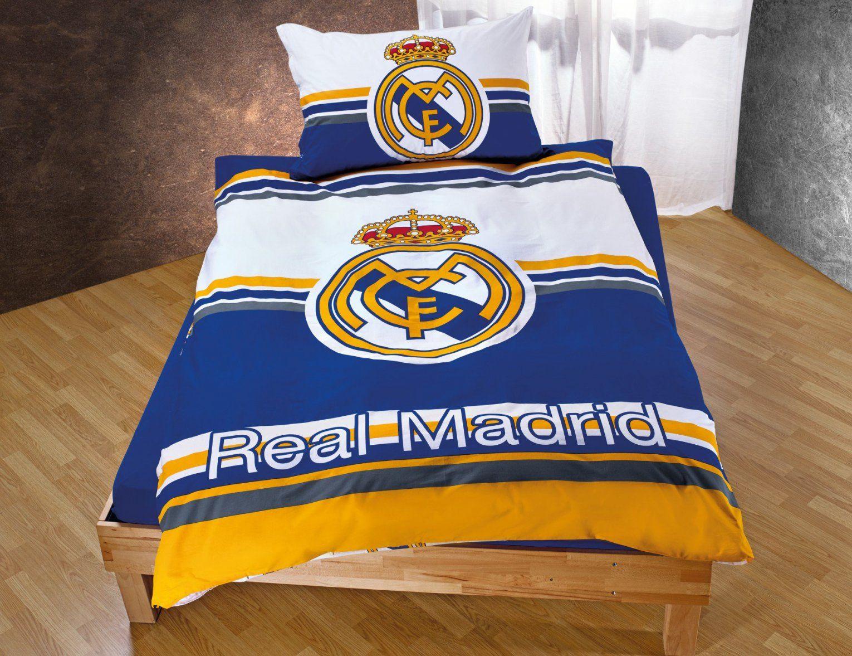 Real Madrid Bettwäsche Mit Grossem Logo Günstig ⋆ Lehner Versand von Bayern München Bettwäsche Real Bild