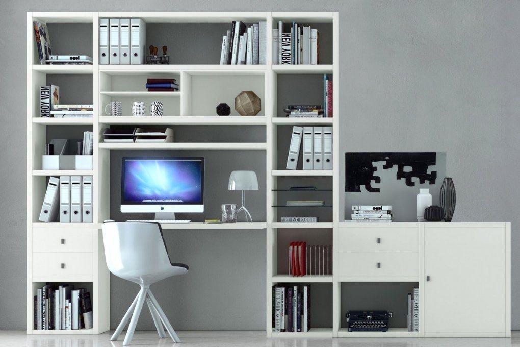 Regal Mit Integriertem Schreibtisch von Wohnwand Mit Integriertem Schreibtisch Photo