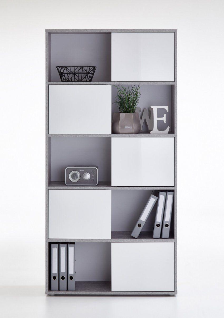 Regal Mit Turen Weiss Hochglanz Haus Design Ideen