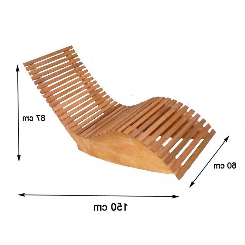 Relaxliege Selber Bauen Mit Wohndesign Komplett Neues Interieur Holz von Holz Gartenliege Selber Bauen Photo