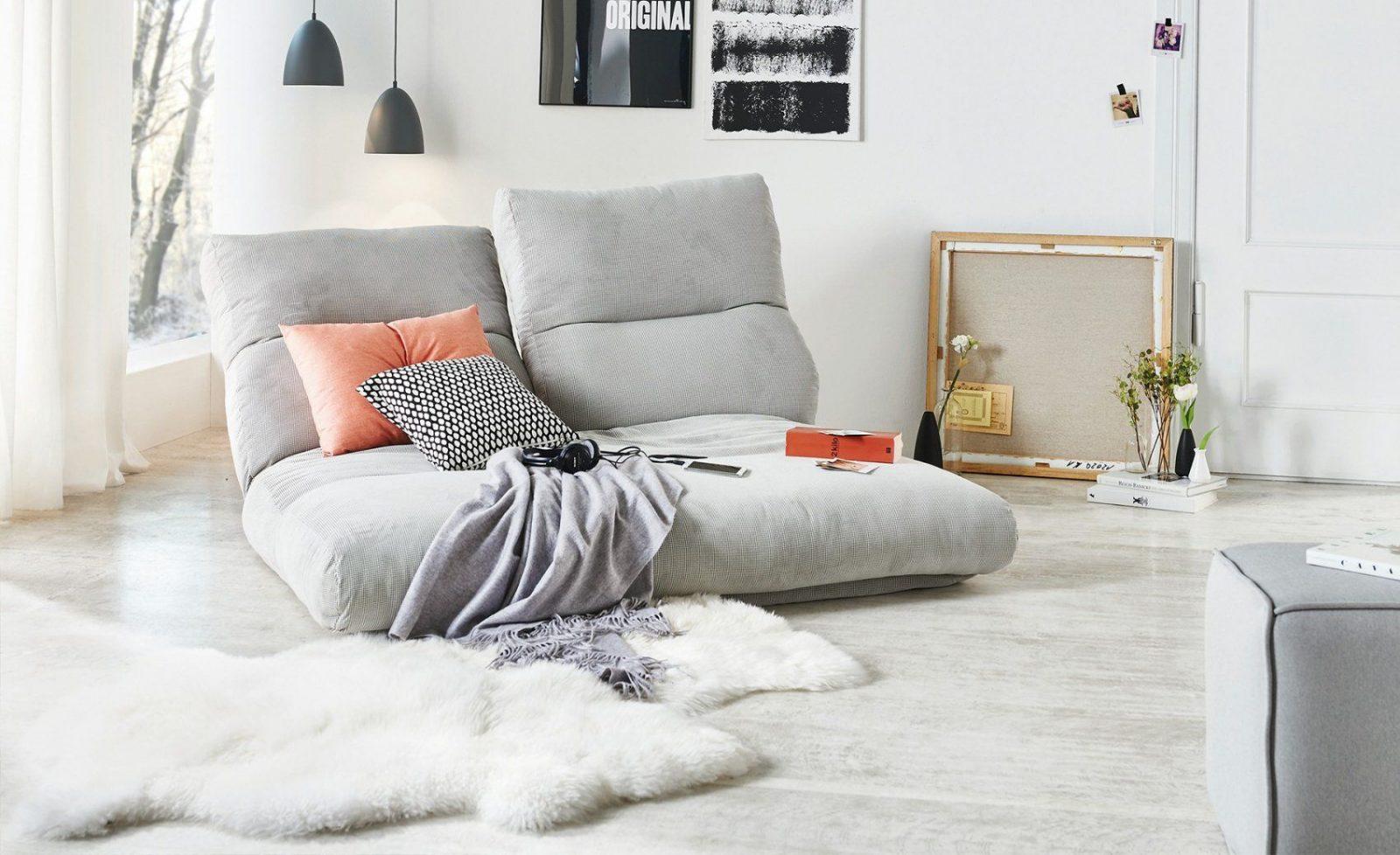 Relaxliege Tabea  2Sitzer Grau  Möbel Höffner von Relaxliege Für 2 Personen Bild