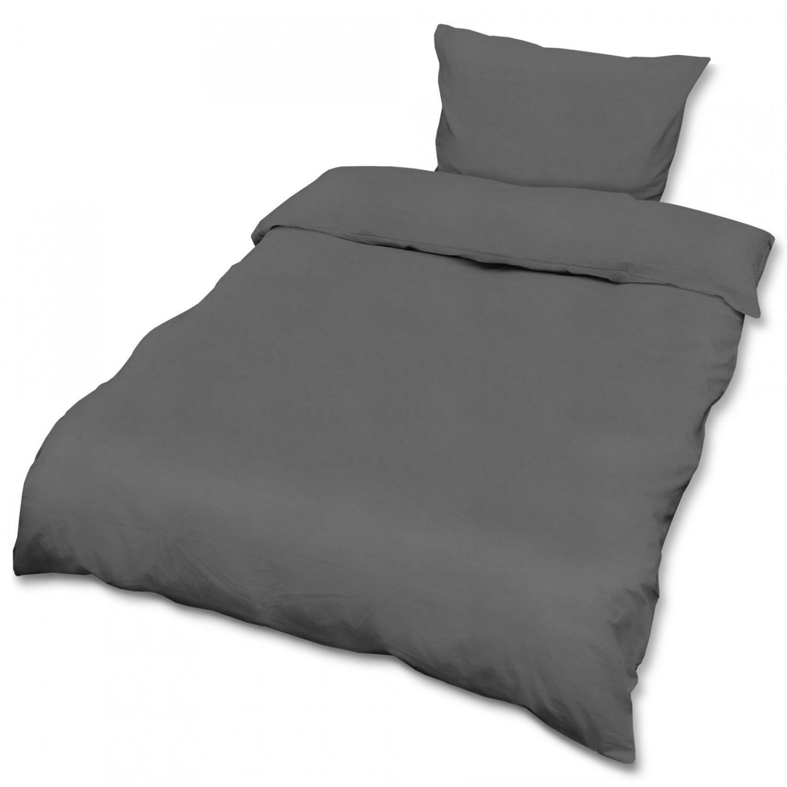 Renforce Bettwäsche 2Tlg Bettgarnitur 135X200 155X220 Bettbezug von Bettwäsche 155X220 Mit Zwei Kopfkissen Bild