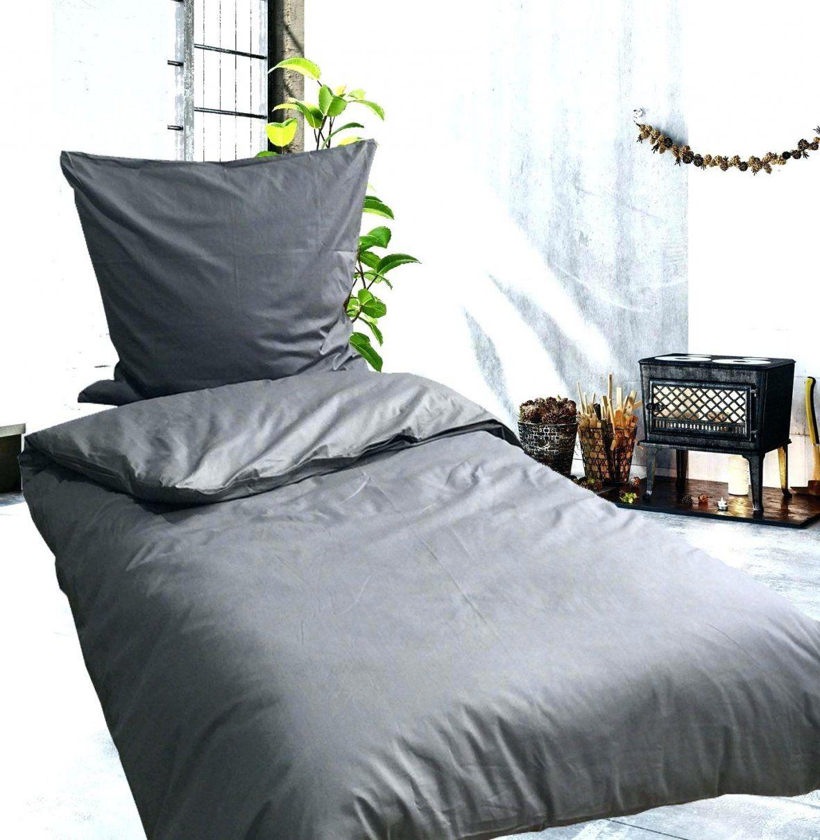 Renforce Bettwasche Baumwolle 135×200 Cm Einfarbig Uni Anthrazit von Renforce Bettwäsche Wiki Photo