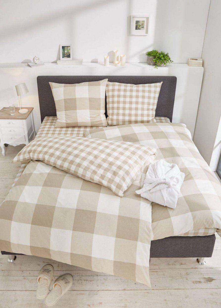 Renforcé Bettwäsche Rüschen 135X200 Landhaus Uni Farben Von Rosa von Rüschen Bettwäsche Weiß Bild