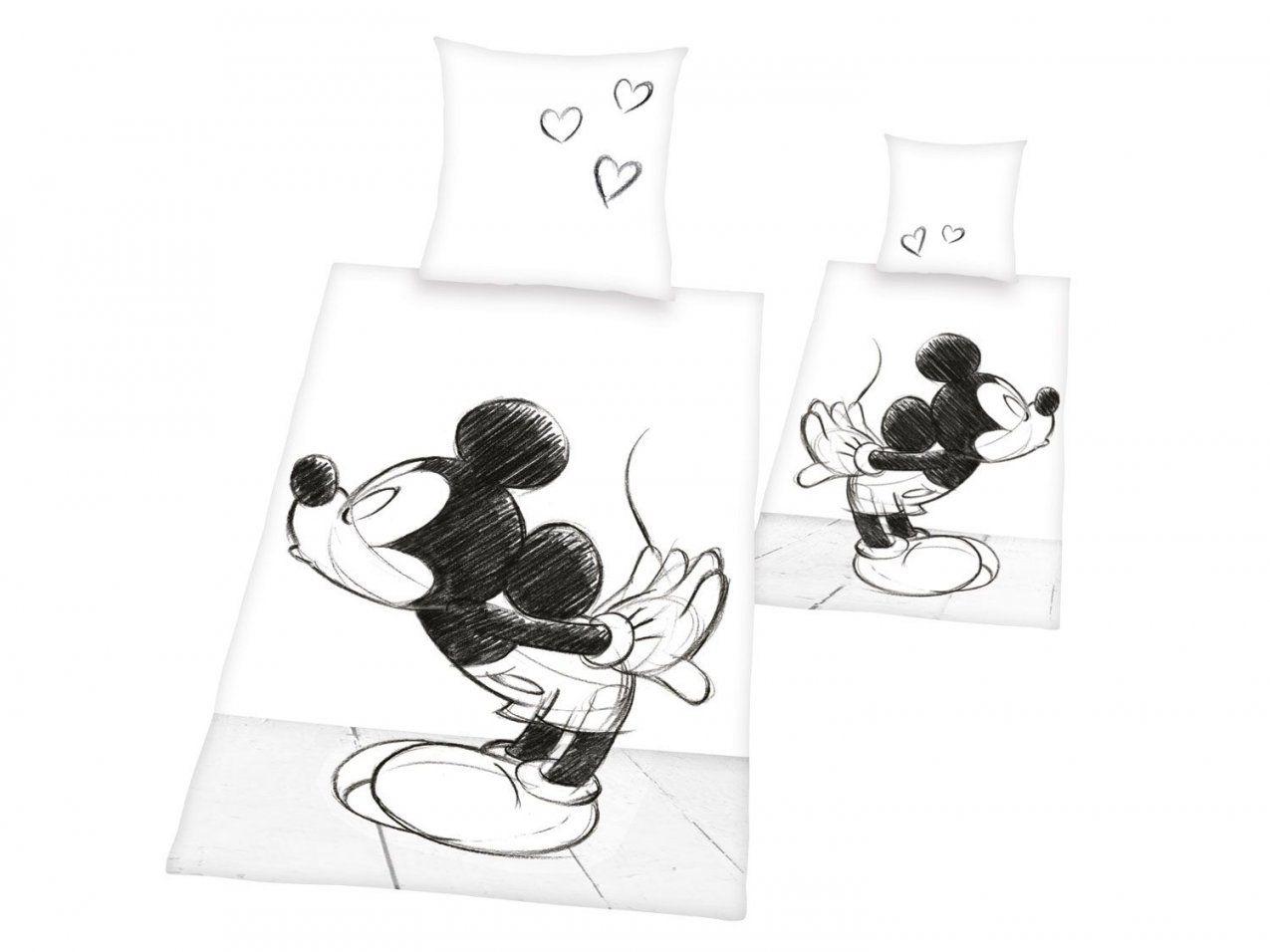 Renforcébettwäsche 135 X 200 Cm  Lidl Deutschland  Lidl von Mickey Mouse Bettwäsche Lidl Photo