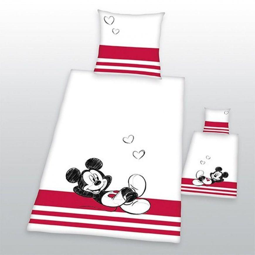Renforcébettwäsche 135 X 200 Cm Mickey 135X200  Real von Mickey Mouse Bettwäsche 200X200 Bild