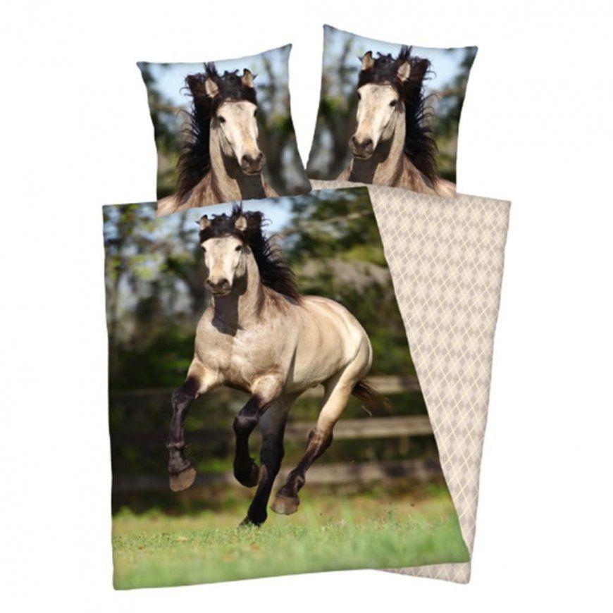 Renforcébettwäsche Pferde 135 X 20080 X 80 Cm  Real von Bettwäsche Pferde Fotodruck Photo