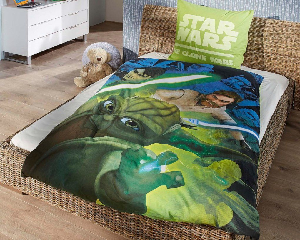 Renforcékinderbettwäsche Clone Wars (135 X 200 Cm)  Dänisches von Star Wars Bettwäsche Dänisches Bettenlager Bild