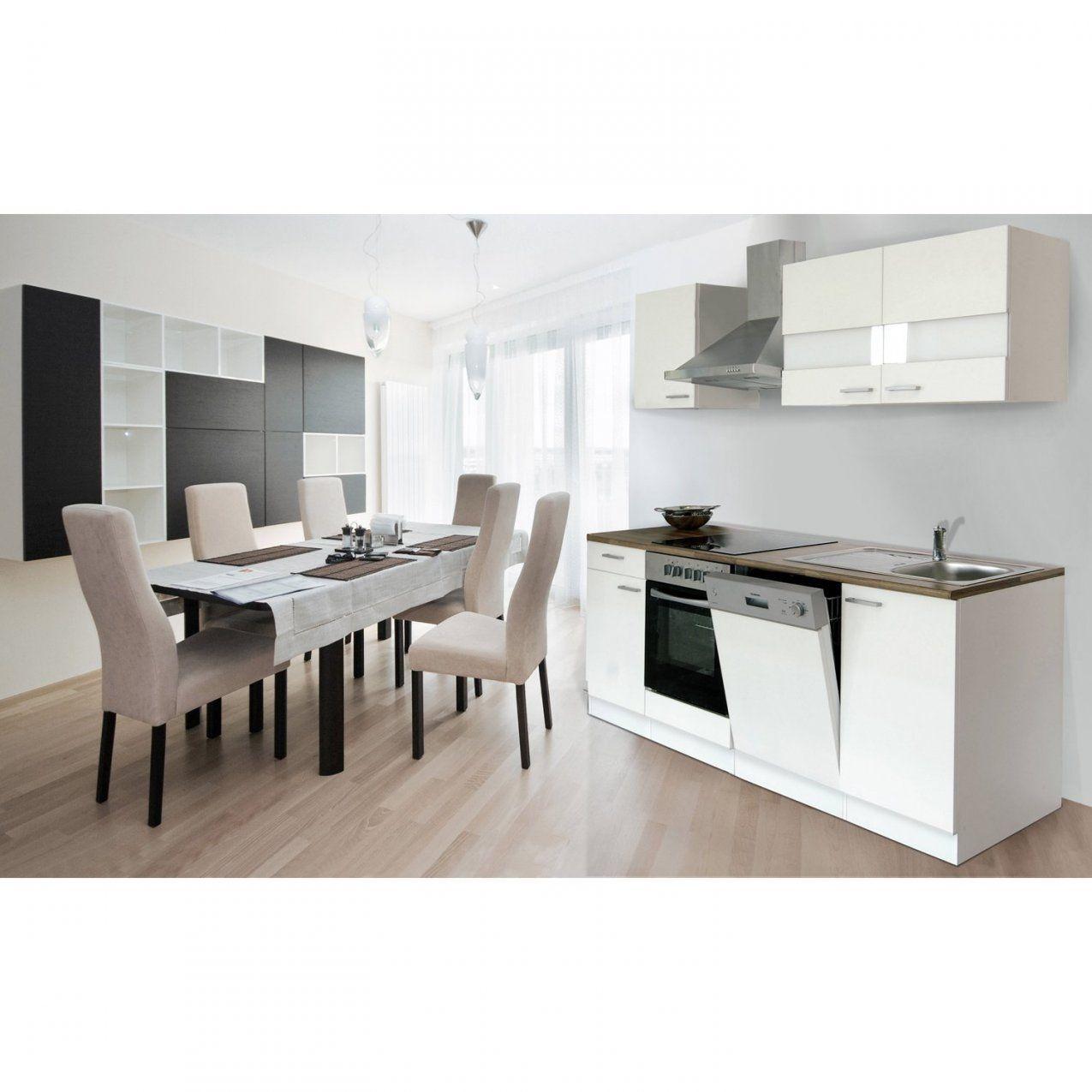 Respekta Küchenzeile Kb220Wwc 220 Cm Weiß Kaufen Bei Obi von Küchenzeile 220 Cm Mit Kühlschrank Photo