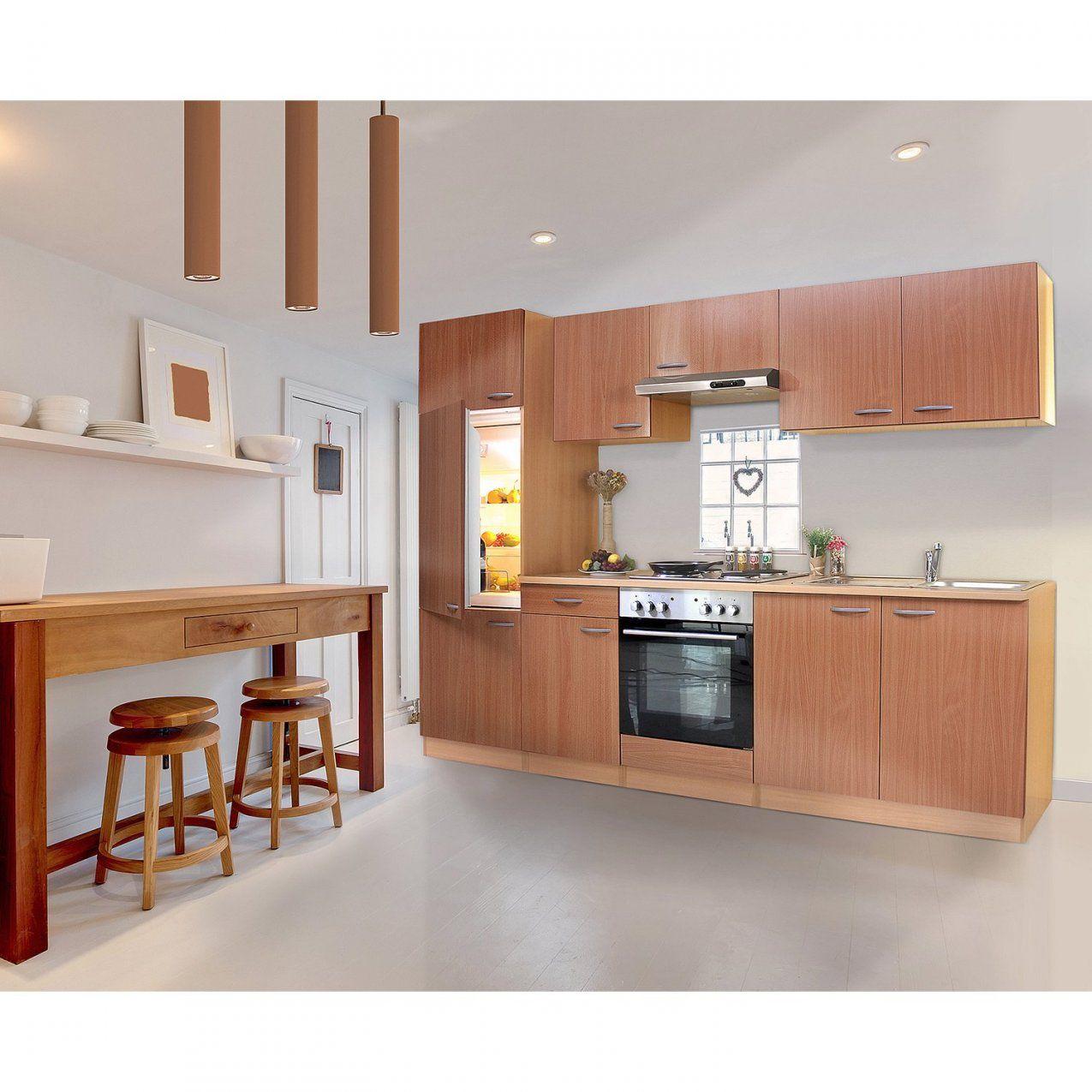 Respekta Küchenzeile Ohne Egeräte Und Arbeitsplatte Klb270Bboa 270 von Küchenblock 260 Cm Mit Elektrogeräten Bild