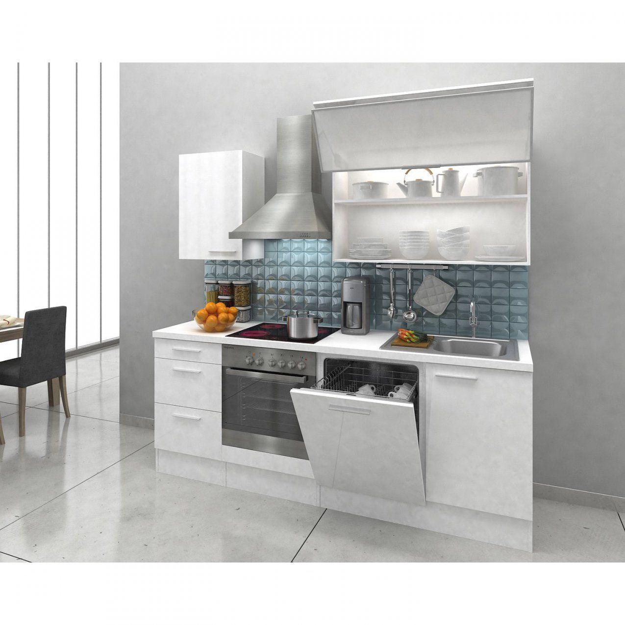 Respekta Premium Küchenzeile Rp220Wwc 220 Cm Weiß Kaufen Bei Obi von Küchenzeile 220 Cm Mit Kühlschrank Photo