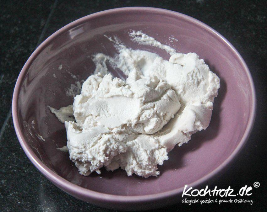 Rezept Frischkäse Vegan Und Sojafrei Kochtrotzfrischkäse von Joghurt Selber Machen Vegan Photo