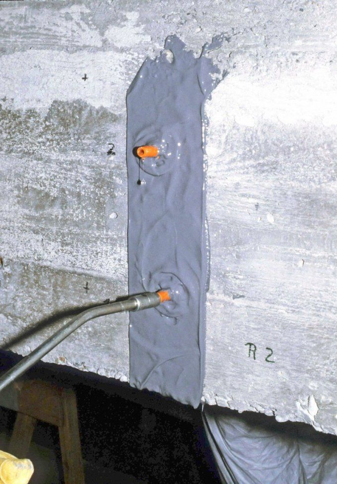 Risse In Beton Richtig Füllen  Bauhandwerk von Risse Im Beton Abdichten Photo