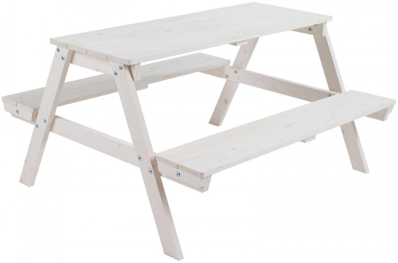 Roba Kinder Outdoor Sitzgruppe Picknick For 4 Bank Tisch Kombination von Bank Tisch Kombination Holz Bild