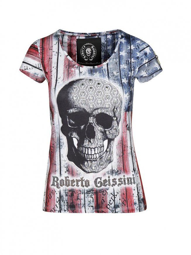 Roberto Geissini Tshirt Bunt  M von Roberto Geissini Bettwäsche Photo