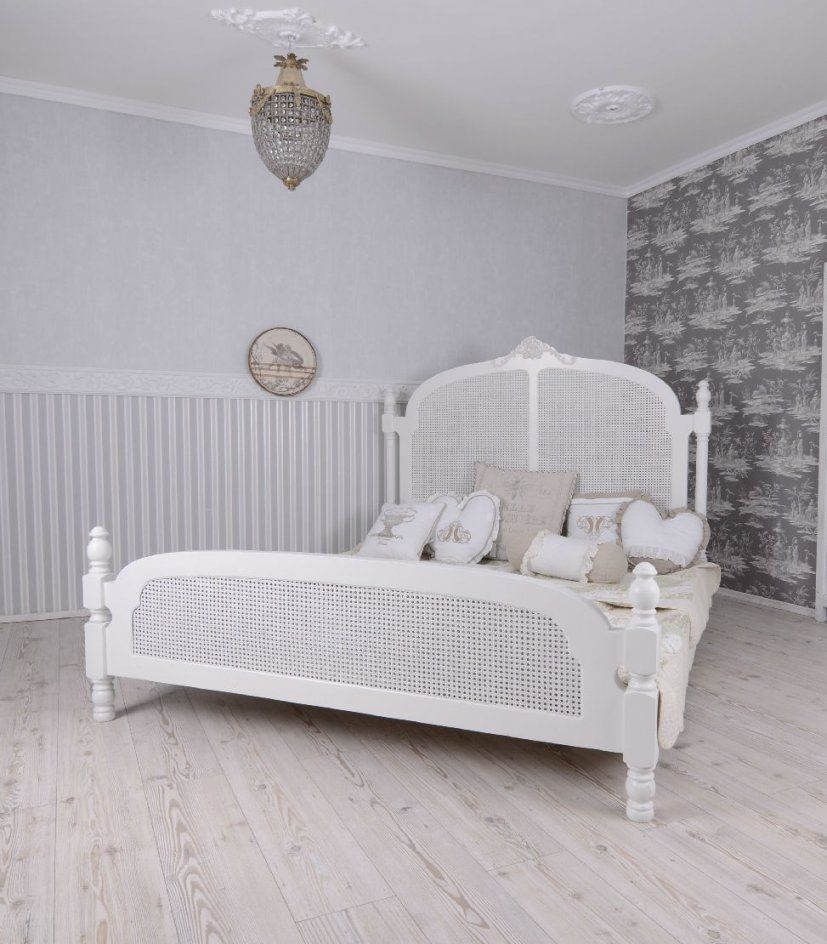 gr nderzeit bett holz um1900 shabby chic wei mit lattenrost in von bett shabby chic wei photo. Black Bedroom Furniture Sets. Home Design Ideas