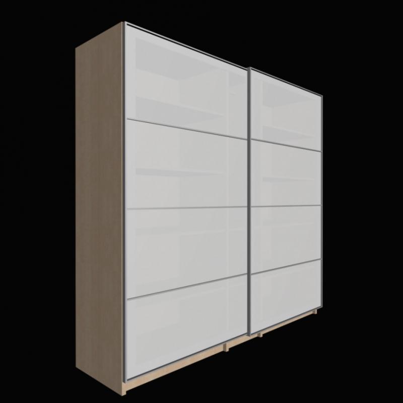 schrank mit rollladen. Black Bedroom Furniture Sets. Home Design Ideas