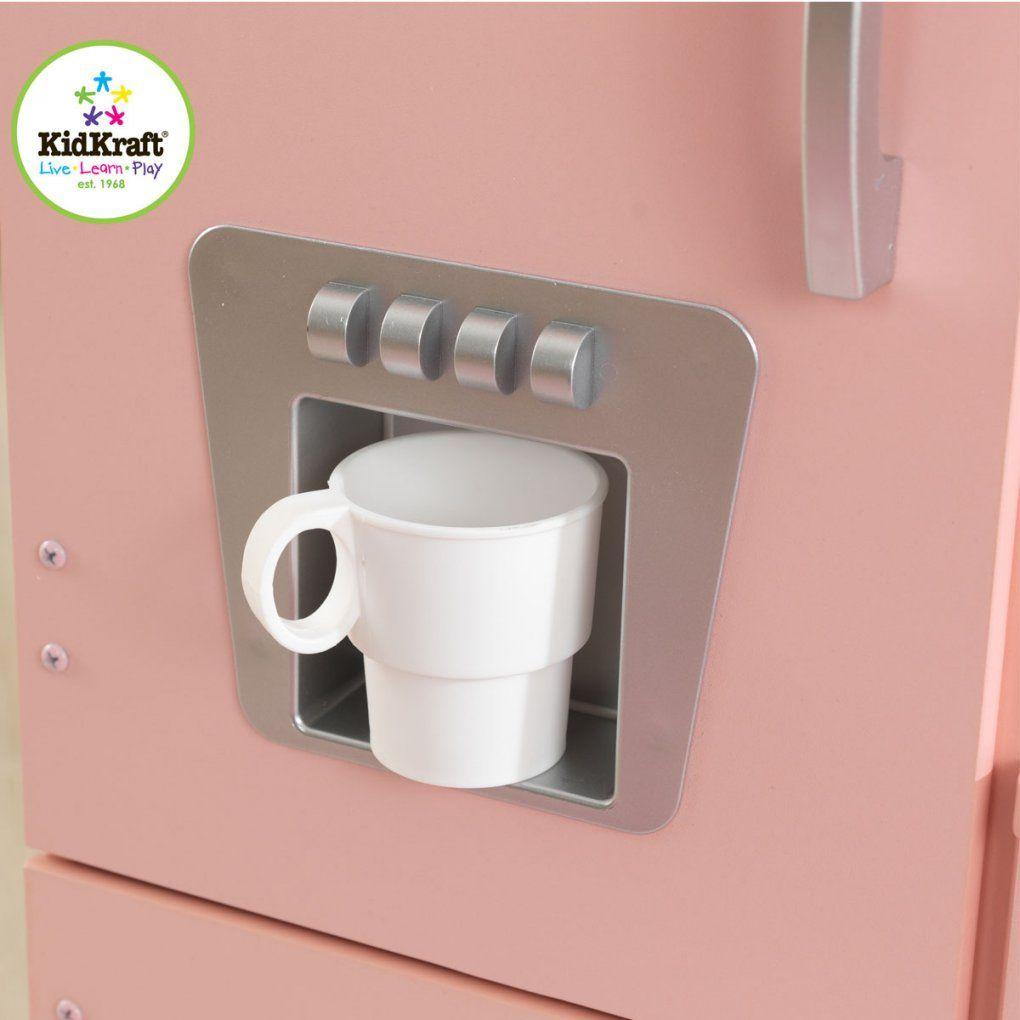 Rosa Retroküche Aus Holz Von Kidkraft 53179 von Kidkraft Retro Küche Rosa Bild