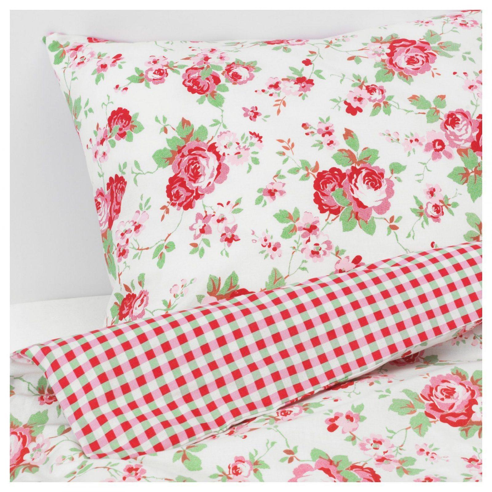 rosali bettw scheset 2teilig 140x20080x80 cm ikea von ikea bettw sche biber photo haus design. Black Bedroom Furniture Sets. Home Design Ideas