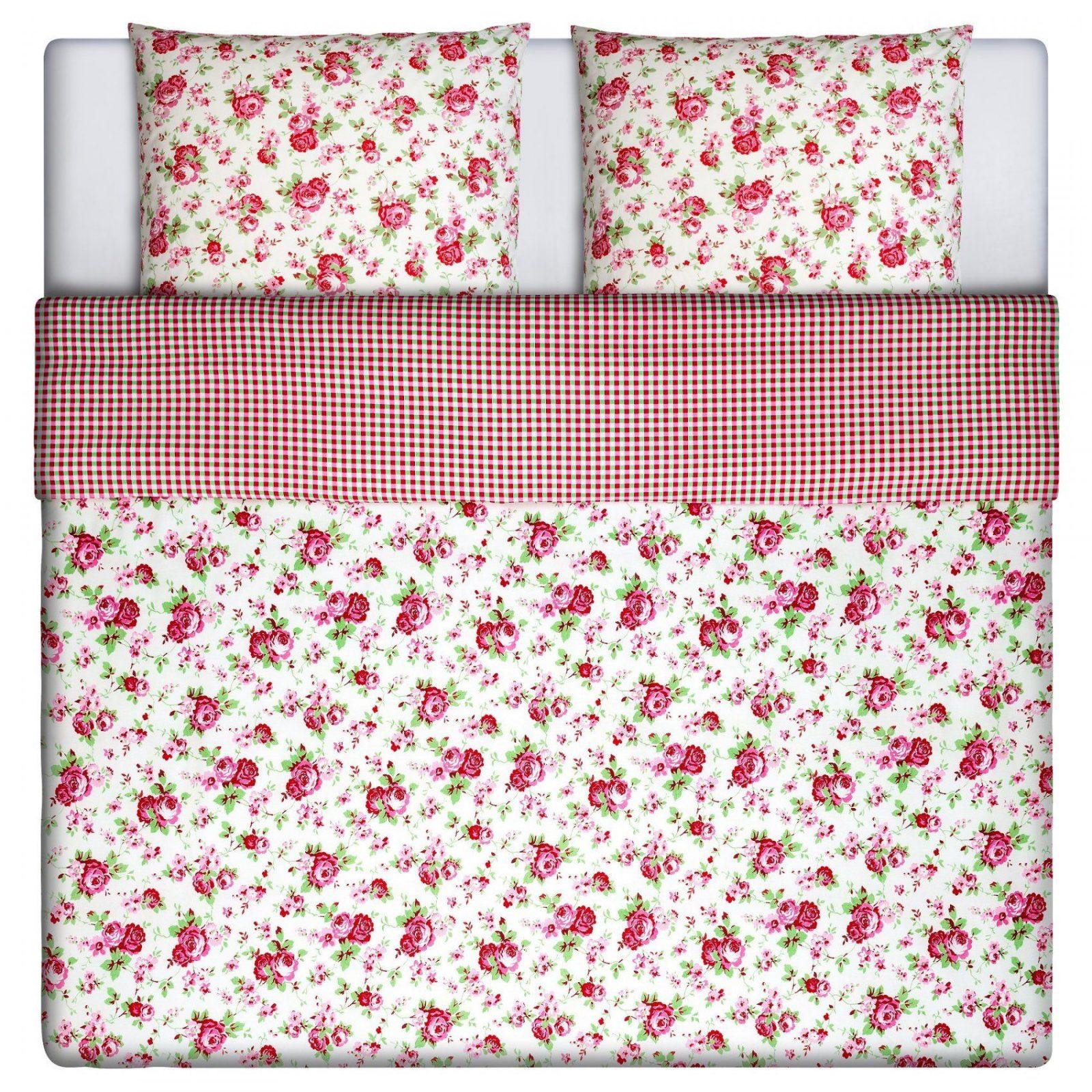 Rosali Bettwäscheset 2Teilig  140X20080X80 Cm  Ikea von Ikea Blümchen Bettwäsche Photo