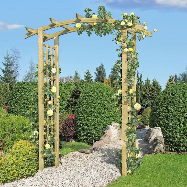 Rosenbogen Aus Holz von Rosenbogen Holz Selber Bauen Photo