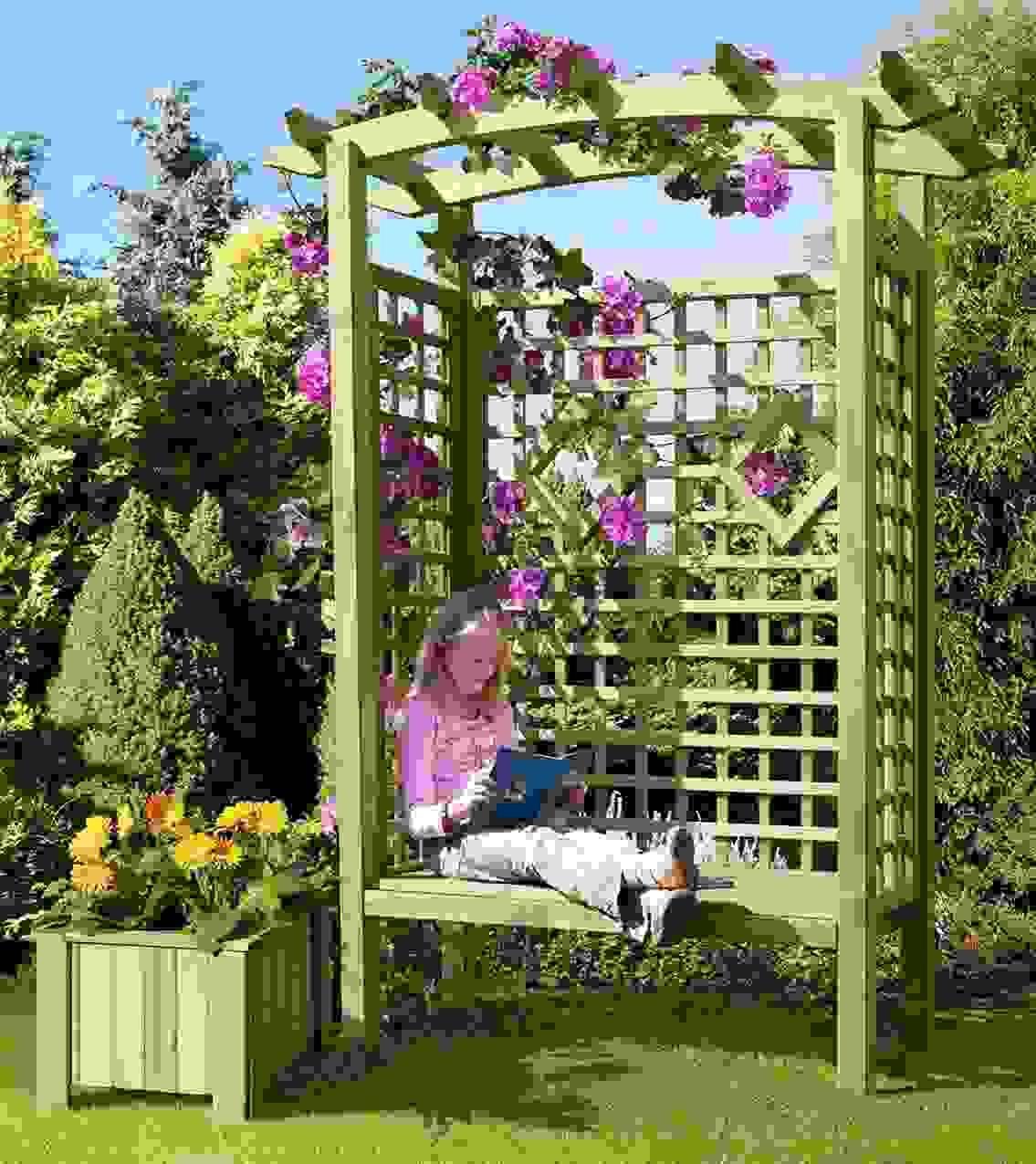 Rosenbogen Selber Bauen Da Rosenbogen Spalier Rankhilfe With Von von Rosenbogen Holz Selber Bauen Bild