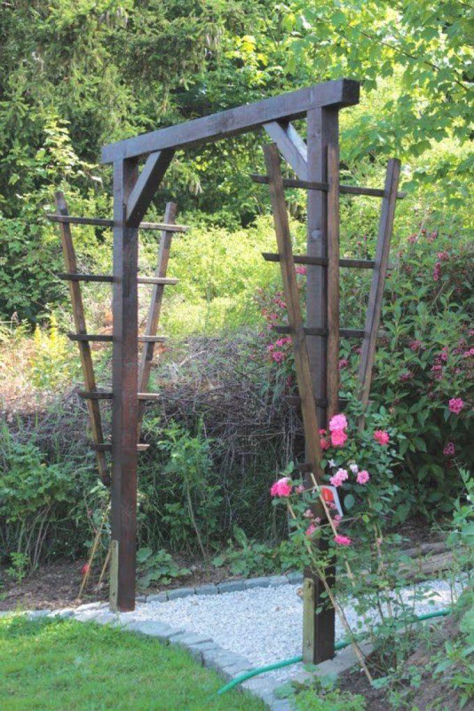 Rosenbogen Selber Bauen  Swalif von Rosenbogen Holz Selber Bauen Bild