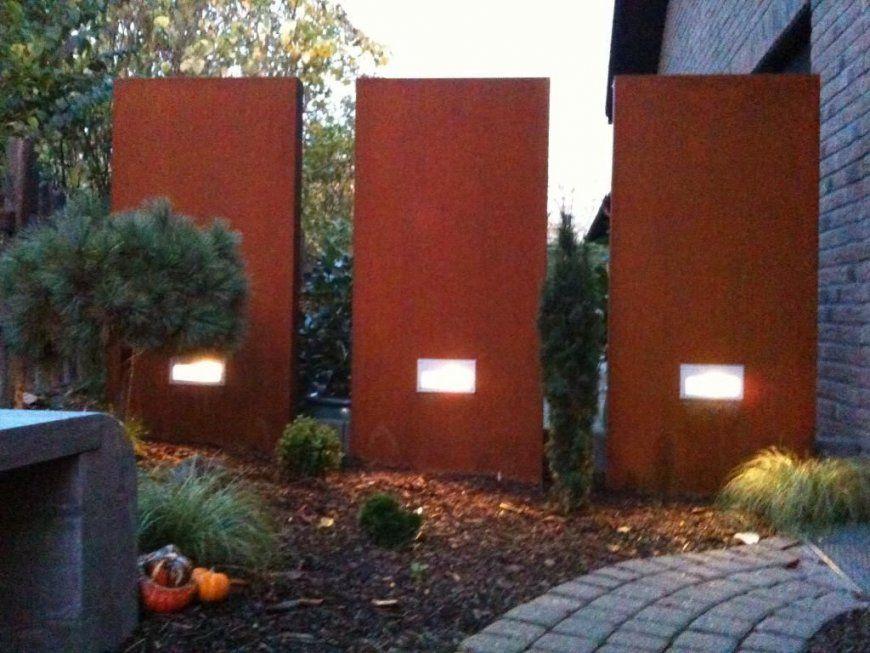 Rost Garten  Wir Liefern Auch Stelen Inkl Hausnummern  Rostiges von Sichtschutz Garten Metall Rost Photo