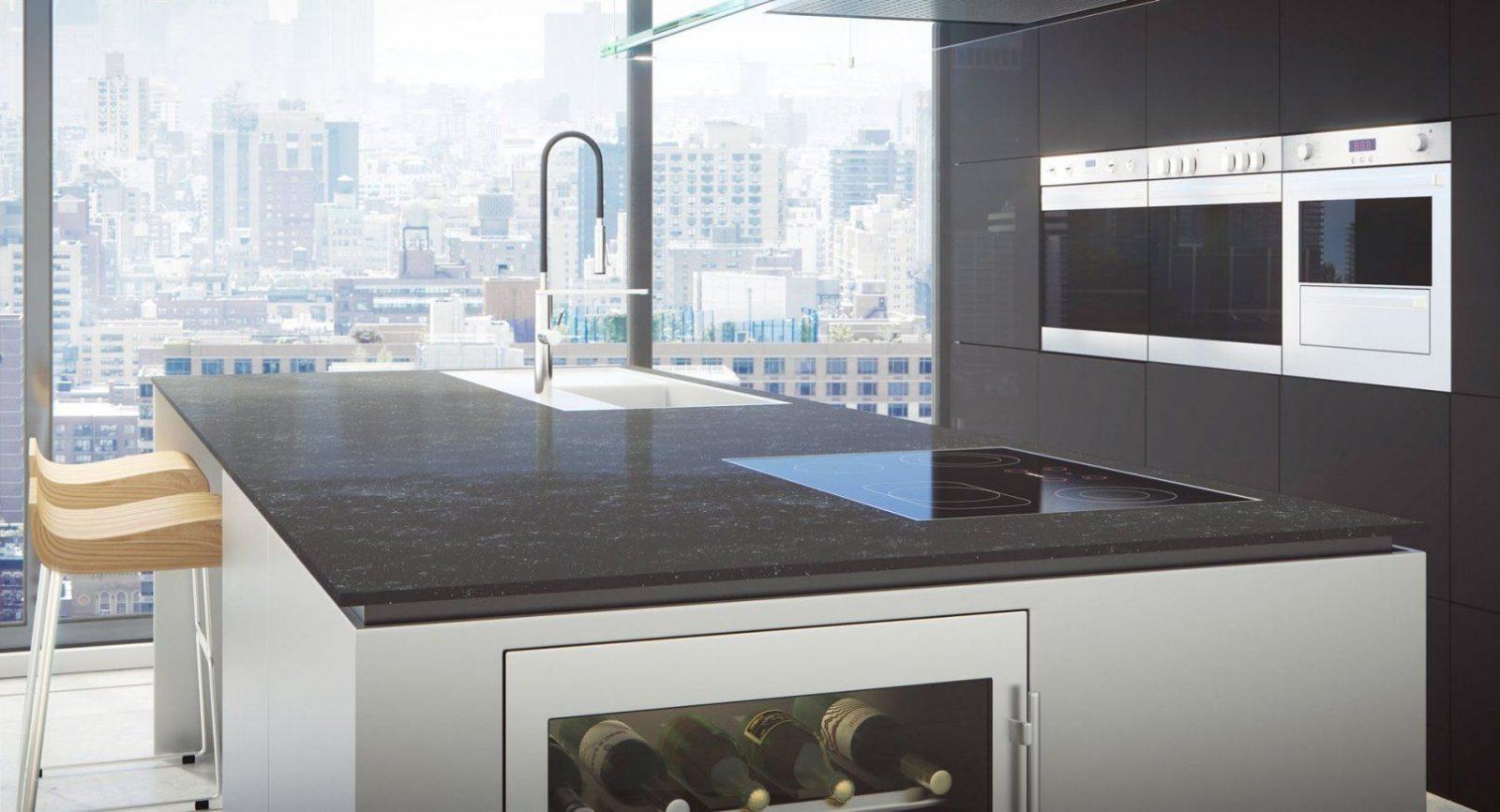 Rot Weiße Küche Elegant Küche Dunkler Boden  Küchen Inspiration von Weisse Küche Dunkler Boden Photo