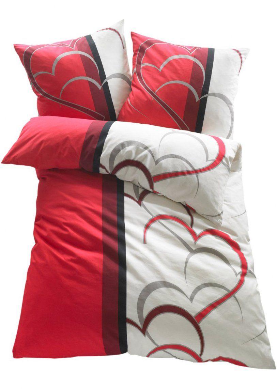 Rote Bettwäsche  Aktuelle Trends Für Ihr Heim von Rote Satin Bettwäsche Bild