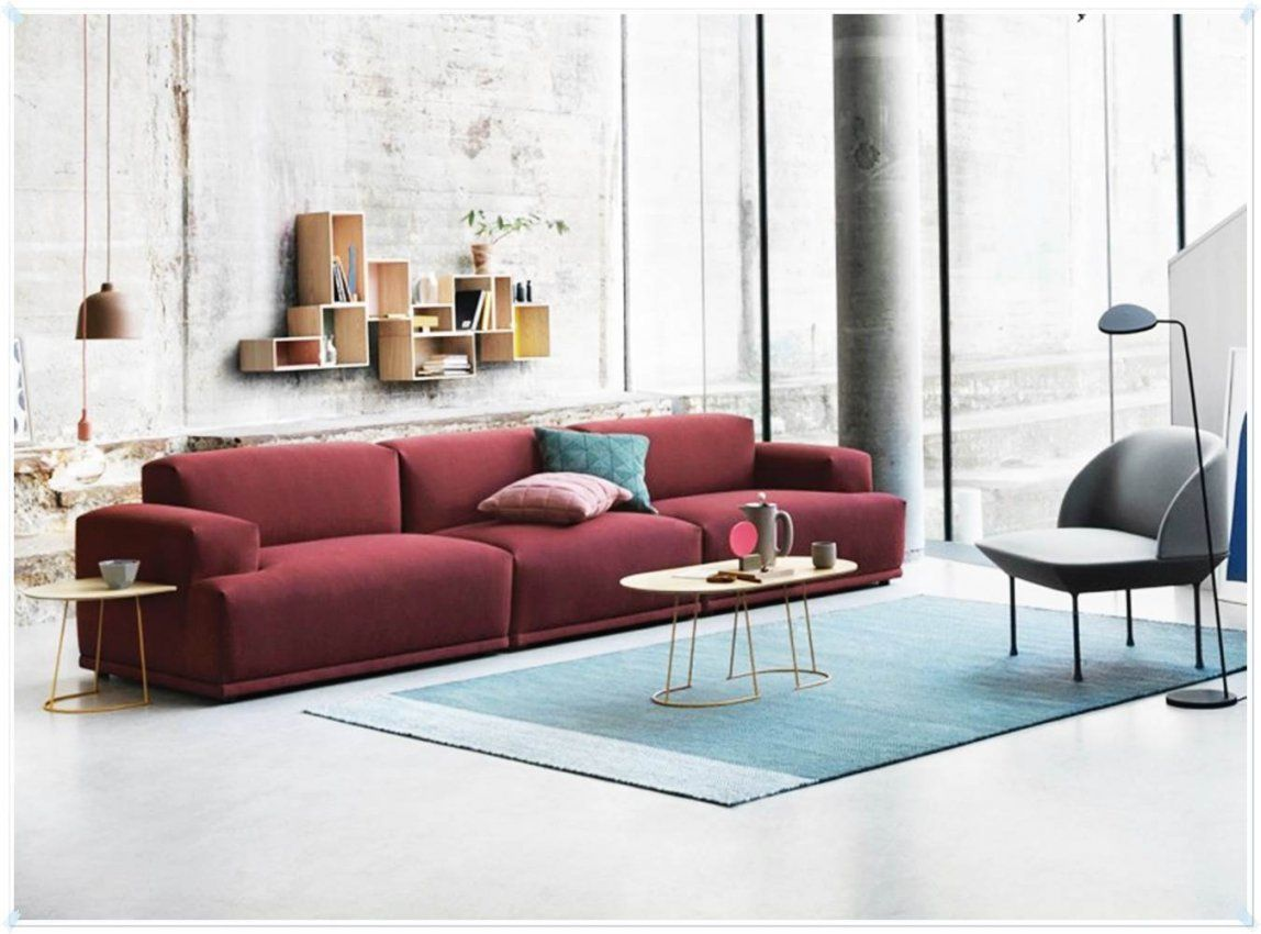 Rote Couch Wandfarbe  Ideen Für Zuhause von Rote Couch Welche Wandfarbe Bild