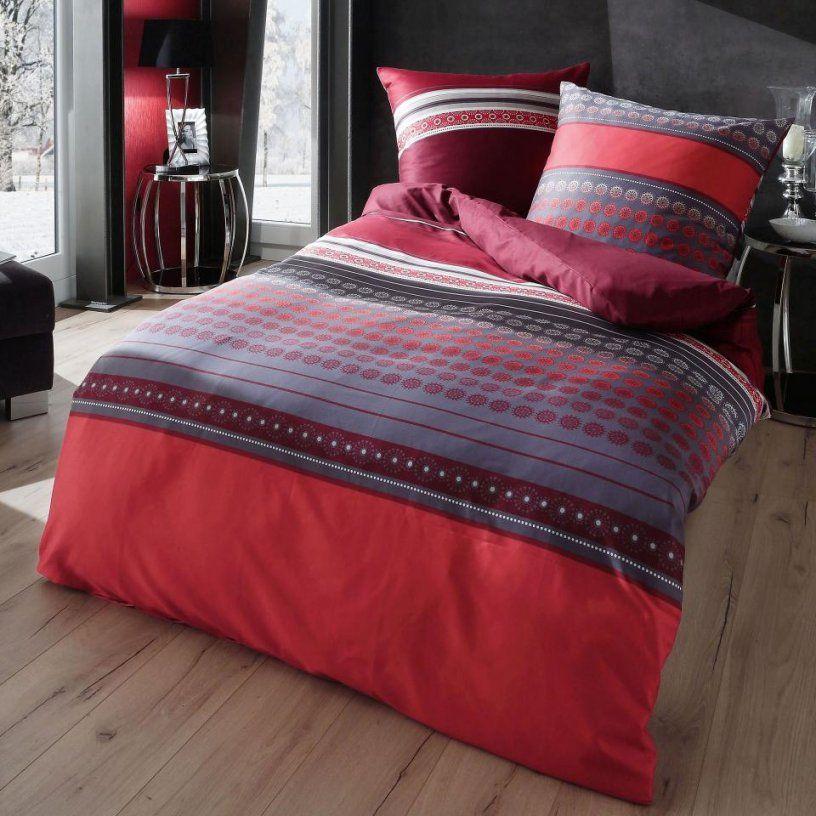 Rote Und Graue Bettwaesche Sets  Dibinekadar Decoration von Bettwäsche 200X220 Dänisches Bettenlager Bild