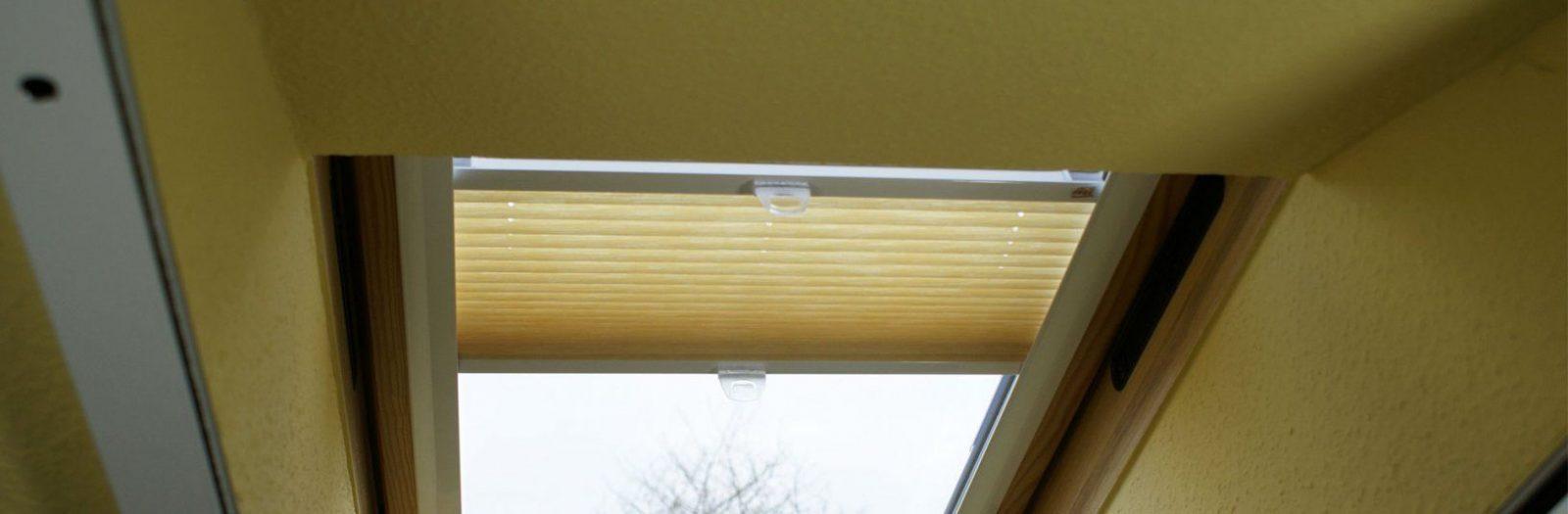 Roto Dachfenster Plissee Ohne Bohren Awesome Rollos Fur Dachfenster von Roto Dachfenster Plissee Ohne Bohren Photo