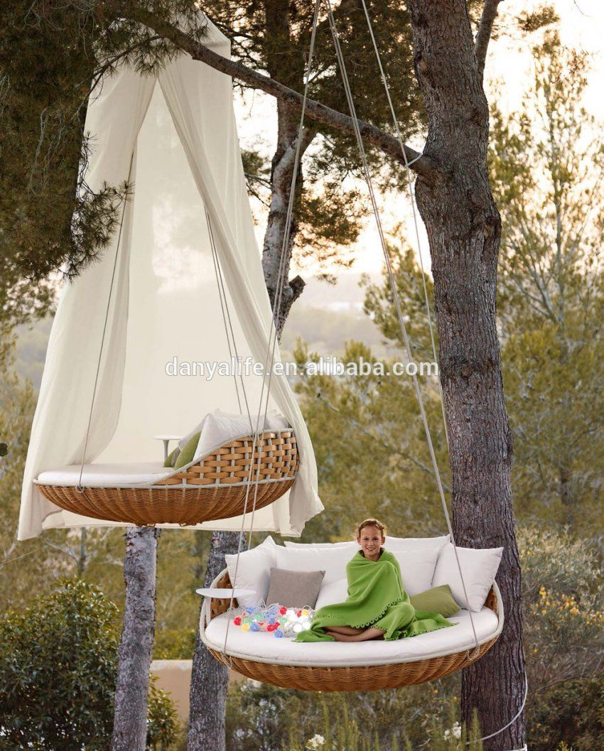 Round Porch Swing Bed Flossy Home Plus 5  Teamns von Round Rattan Swing Bed Photo