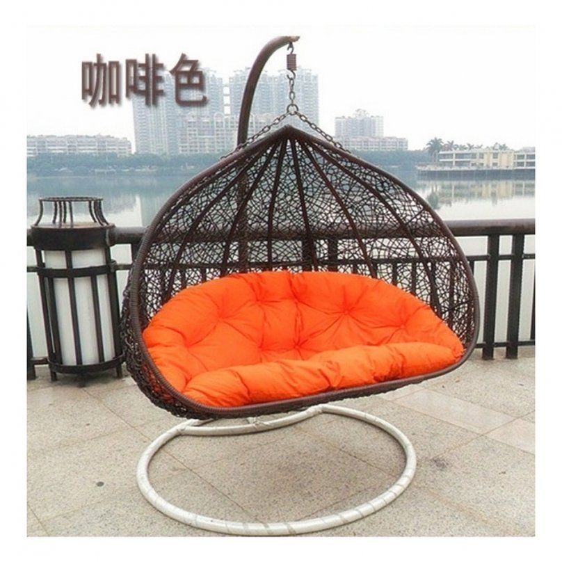 Round Rattan Outdoor Bed Outdoor Swing Round Rattan Outdoor Bed von Round Rattan Swing Bed Photo