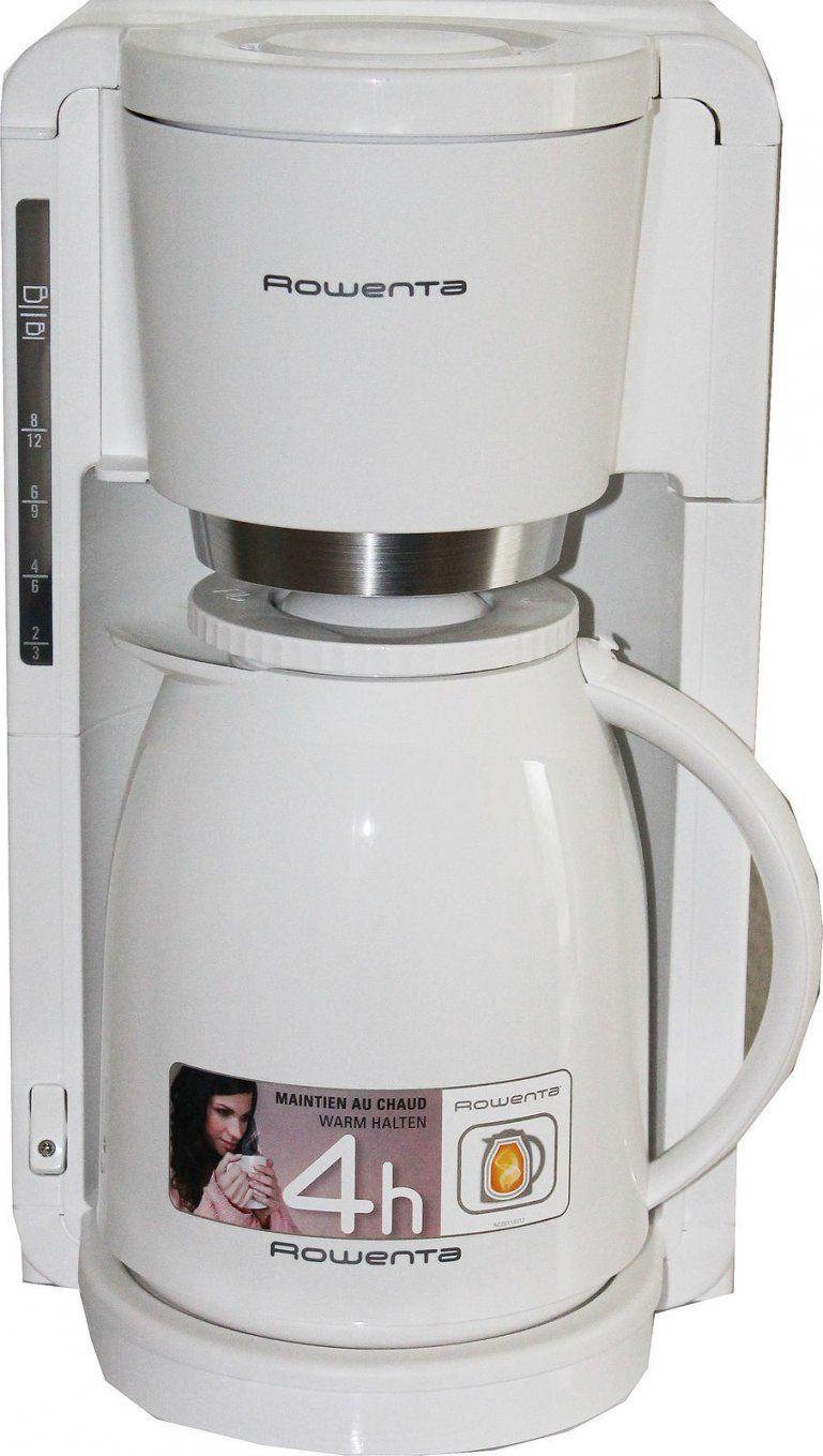 Rowenta 12 Tassen Filterkaffeemaschine Mit Thermoskanne 4H Weiß Neu von Braun Kaffeemaschine Mit Thermoskanne Photo