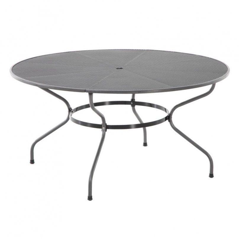 Royal Garden Royal Verso Tisch Ø150 Cm Streckmetall  Garten & Freizeit von Runder Gartentisch 150 Cm Bild