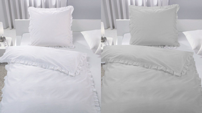 Rueschen Mehr Als 500 Angebote Fotos Preise ✓ von Weiße Bettwäsche Mit Rüschen Bild