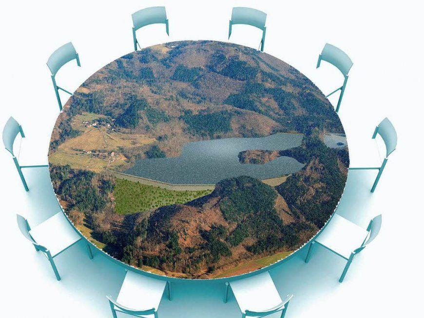 Runder Tisch Fr 10 Personen Perfect Runder Esstisch Glas Bergro Und von Runder Tisch Für 10 Personen Bild