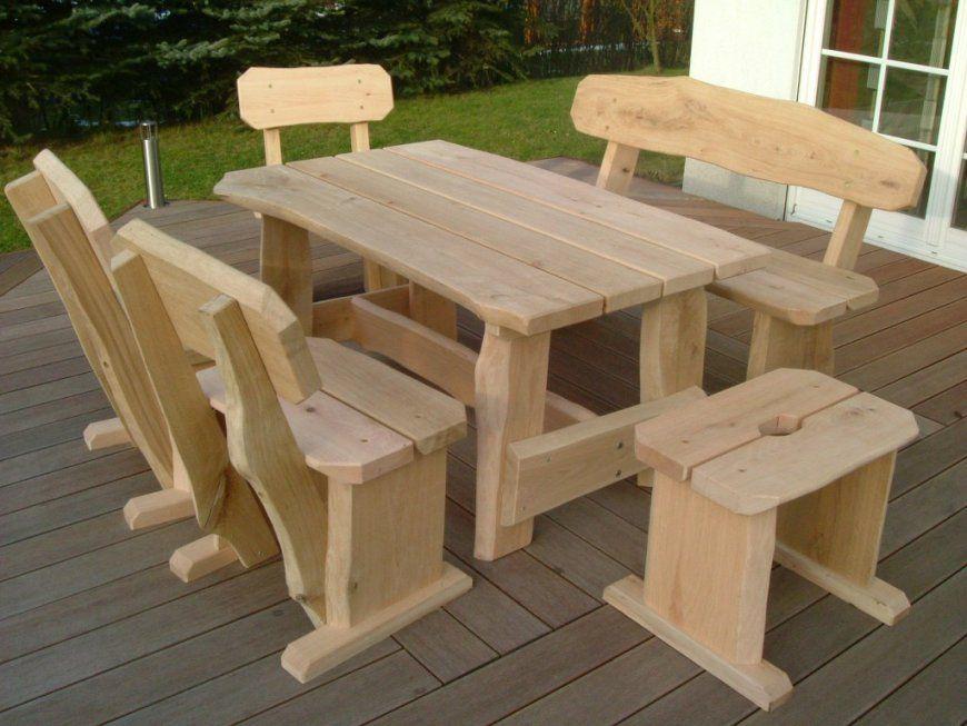 Rustikale Gartenmöbel (Schwache Ausführung)  Die Holzfabrik von Rustikale Gartenmöbel Aus Eiche Photo