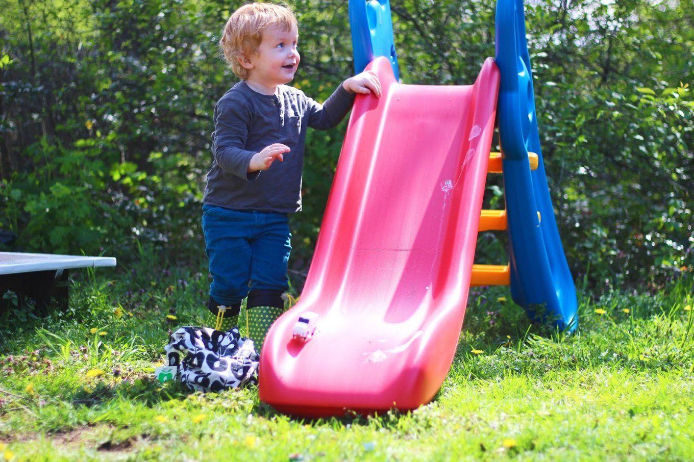 Rutschen Wie Ein Sausewind  Die Big Fun Slide Rutsche Zieht In Omas von Big Fun Slide Rutsche Bild