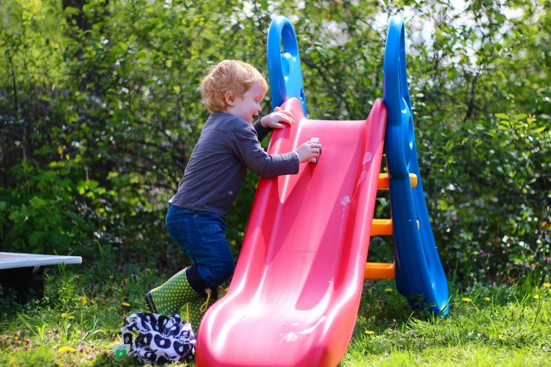 Rutschen Wie Ein Sausewind  Die Big Fun Slide Rutsche Zieht In Omas von Big Fun Slide Rutsche Photo
